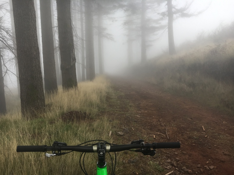 Foggy times on Pico Alto